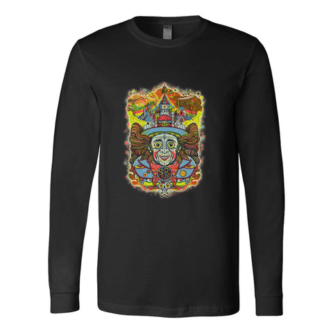 Primus In Willy Wonka Style Logo Long Sleeve T-Shirt