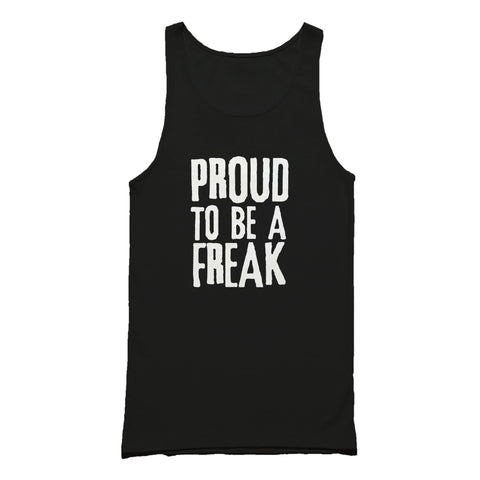 Proud To Be A Freak Punk Tank Top