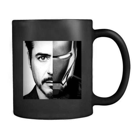 Robert Downey Jr. Iron Man Baseball Hipster Mug