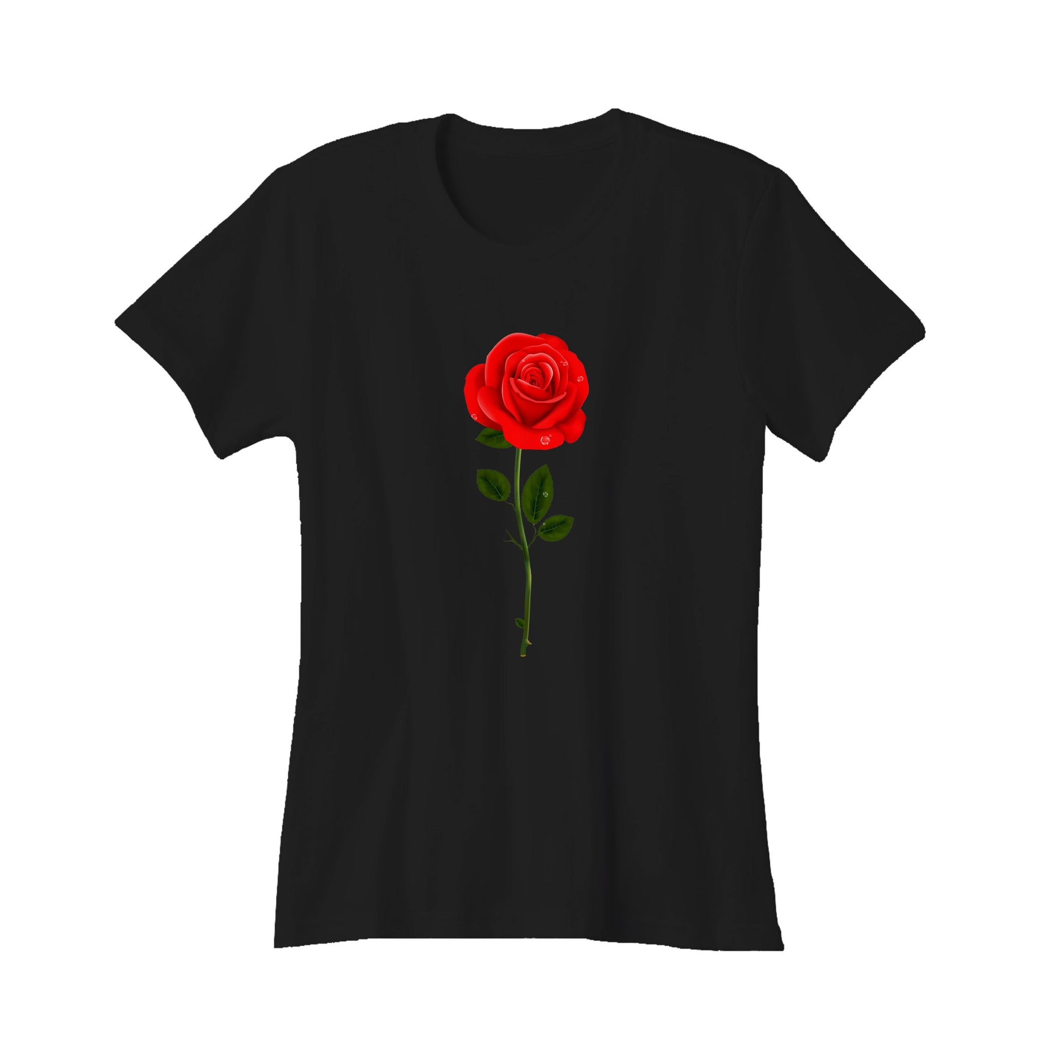 Rose Logo Flowers Women's T-Shirt