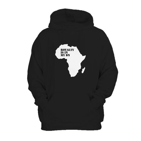 Royalty Is In My Dna Melanin Black Pride Black Empowerment Africa Hoodie