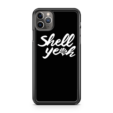 Shell Yeah Cute Ladies Beach.png iPhone 11 / 11 Pro / 11 Pro Max Case