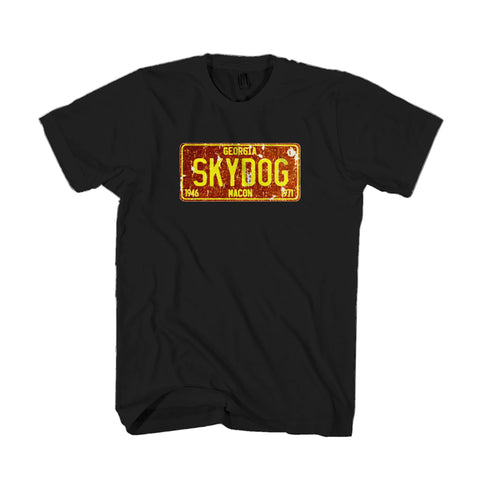 Skydog Trumpet Officially Licensed Gift Music Lover Band Festival The Allman Brothers Duane Allman Muscle Shoals Georgia Man's T-Shirt
