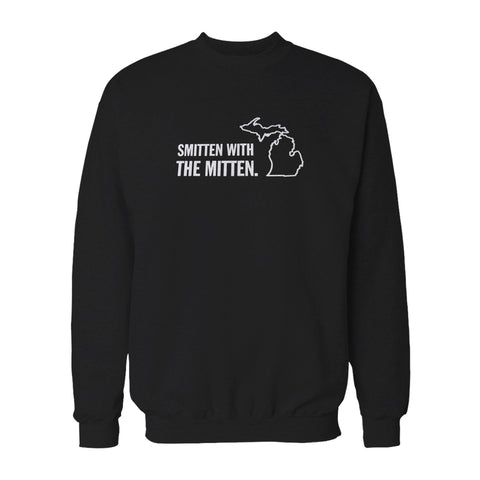 Smitten With The Mitten Michigan Inspired Sweatshirt