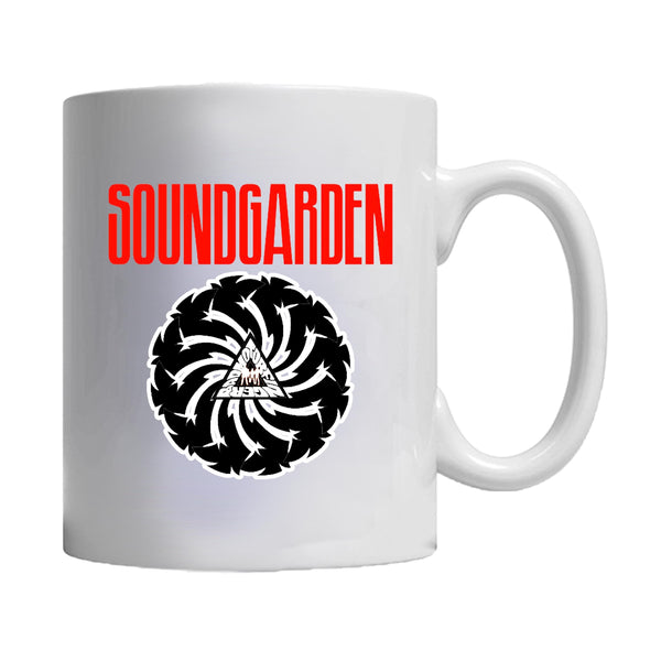 Soundgarden Logo Pearl Jam Nirvana Drunge Music Rock Heavy Chris Cornell Legend Cult Classic Vintage  Mug