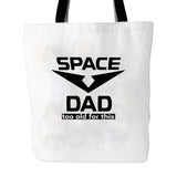Space Dad Voltron Tv Shows Tumblr Legendary Defender Animation Tote Bag