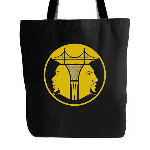 Splash Bros Nba Basketball Oakland Splash Brothers Stephen Curry Klay Thompson Warriors Golden State Dubs San Francisco Retro Tote Bag