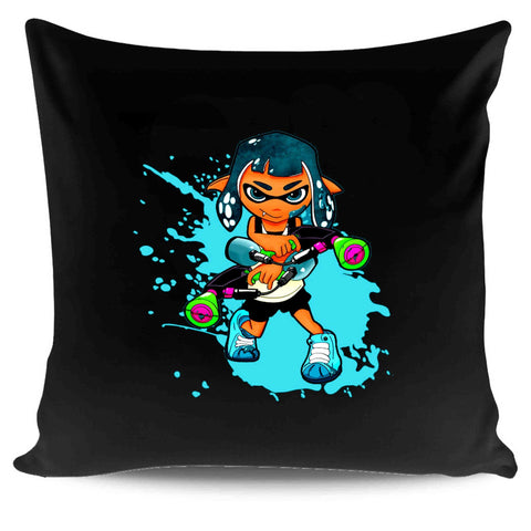 Splatfest Splatoon 2 Inkling Nintendo Switch Gaming Video Game Pillow Case Cover