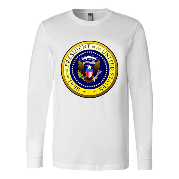 St Louis Presidential Seal Logo Long Sleeve T-Shirt