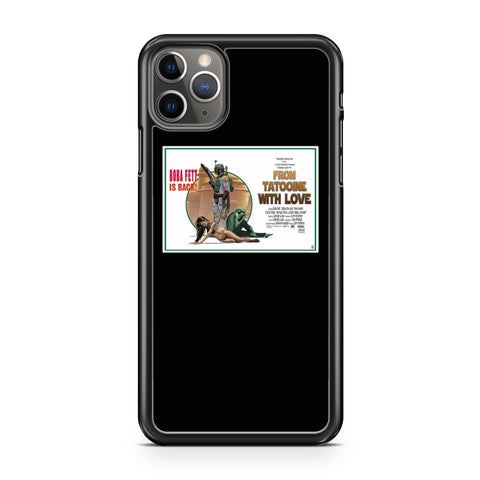 Star Wars Boba Fett Movie Posters iPhone 11 / 11 Pro / 11 Pro Max Case