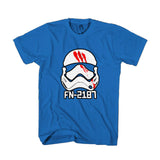 Star Wars Fn 2187 Movies Finn Storm Trooper Graphic Man's T-Shirt
