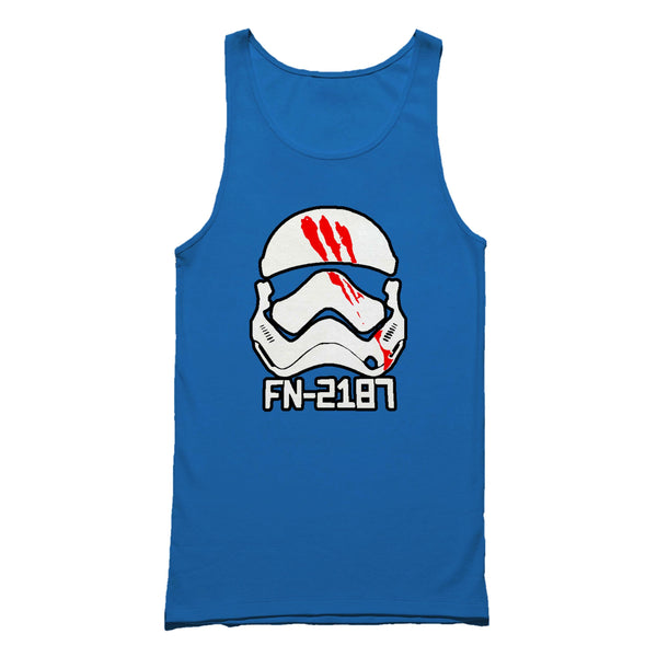 Star Wars Fn 2187 Movies Finn Storm Trooper Graphic Tank Top