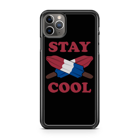 Stay Cool Popsicle Fourth of July Kids America iPhone 11 / 11 Pro / 11 Pro Max Case