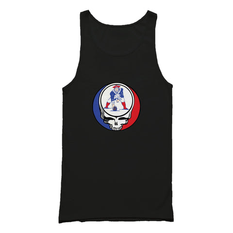 Steal Your Patriots Old School Grateful Dead Tank Top