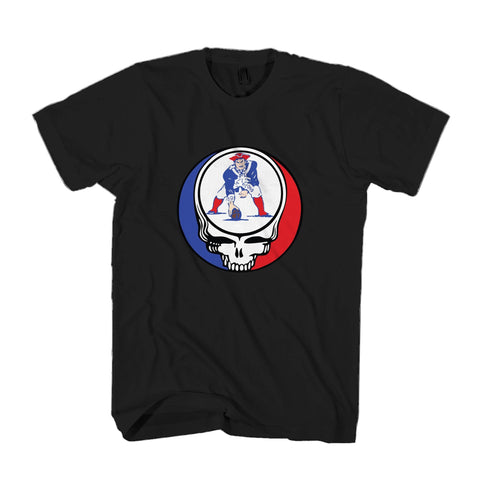 Steal Your Patriots Old School Grateful Dead Man's T-Shirt