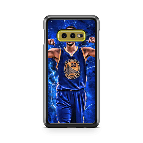Stephen Curry Golden State Warriors Two Blue Samsung Galaxy S10 Case