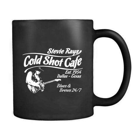 Stevie Ray Vaughan Tribute Stevie Rays Cold Shot Cafe Weeker Blues Stevie Ray Vaughan Srv Fender Texas Double Trouble Hendrix Mug