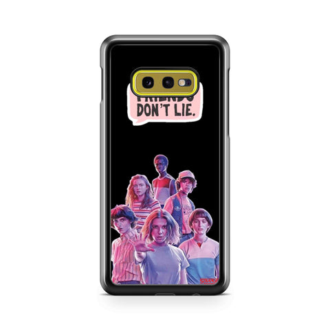 Stranger Things 3 Miker Samsung Galaxy S10 Case