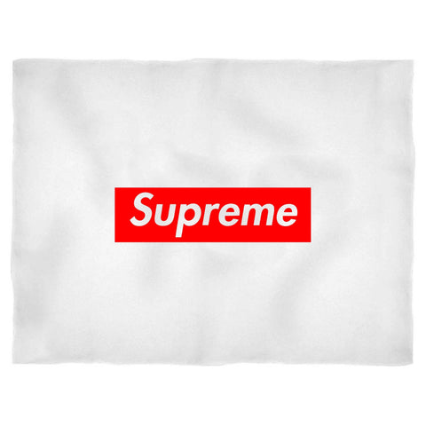 Supreme Box Logo Hypebeast Kanye West Blanket