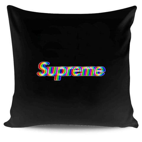 Supreme Box Logo Rainbow Pillow Case Cover