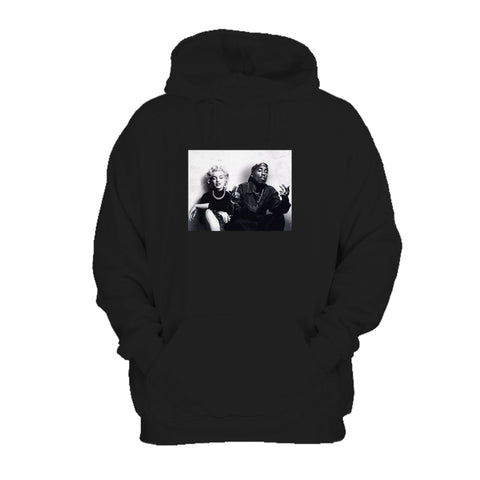 Supreme Legends Marilyn Monroe Tupac Shakur Chillin All Eyes On Me Rapper Hip Hop Classic Hoodie