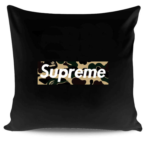 Supreme Multi Design Retro Logo Camo Pillow Case Cover
