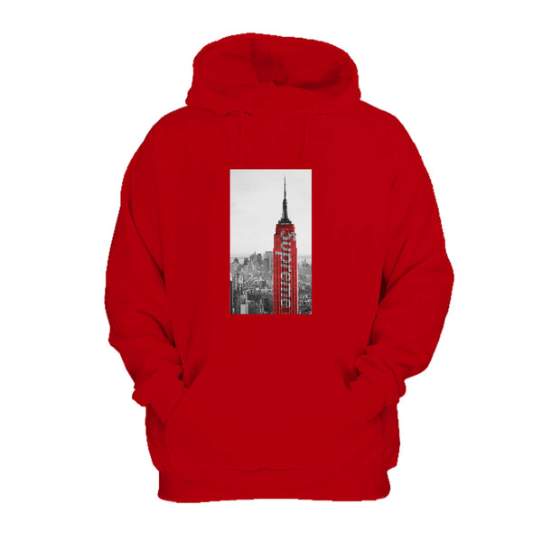 Supreme Tower Kaws Art Kanye West Hoodie