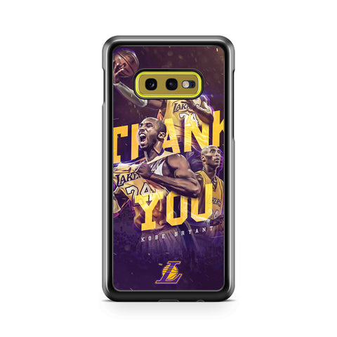 Thank You Kobe Bryant Samsung Galaxy S10 Case