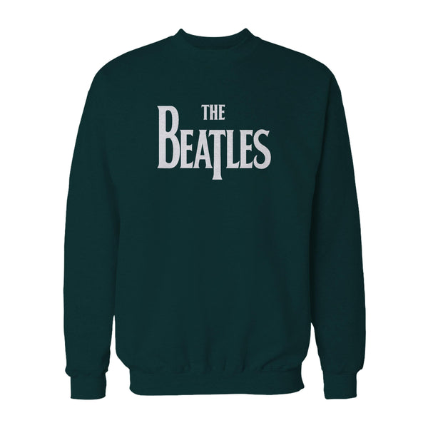 The Beatles Drop T Logo Novelty Music Mc Cartney Lennon Ringo Starr George Harrision Sweatshirt