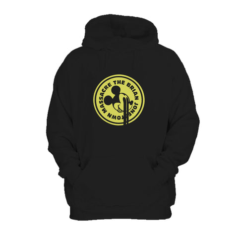 The Brian Jonestown Massacre Alternate Design Vintage Punk Retro Emo 80's Monotone Massacre Dandy Warhols Hoodie