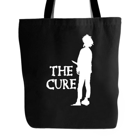 The Cure Boys Dont Cry Goth Band Tote Bag