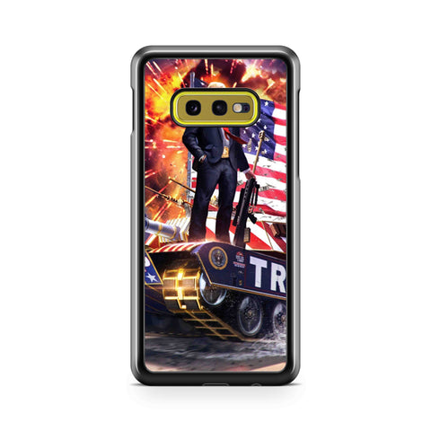 The Donald Trump War Samsung Galaxy S10 Case