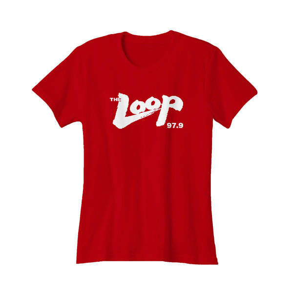 The Loop 979 Wlup Where Chicago Rocks Women's T-Shirt