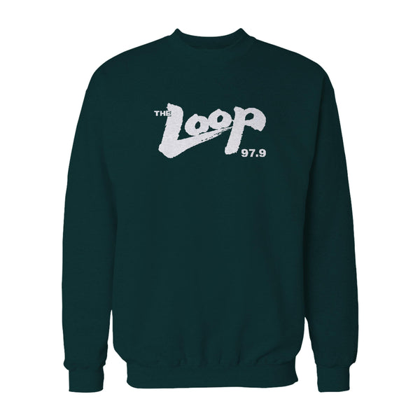 The Loop 979 Wlup Where Chicago Rocks Sweatshirt