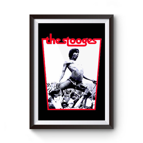 The Stooges Iggy Pop Poster
