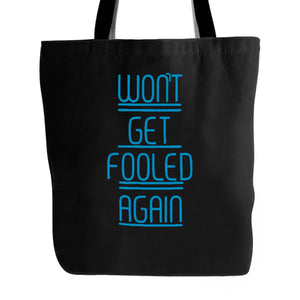 The Who Wont Get Fooled Again Lyric Keith Moon Tote Bag