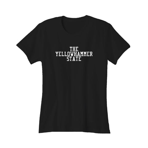 The Yellowhammer 50 State Alabama South Rammer Jammer Southern Women's T-Shirt