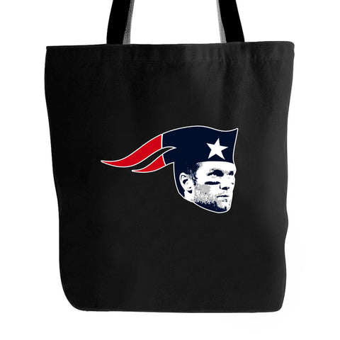 Tom Brady Pats Patriots Super Bowl New England Bill Belichick Tote Bag