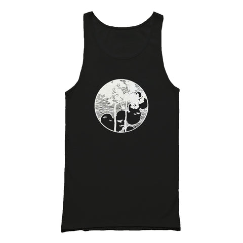 Tree Graphic Birds Tank Top