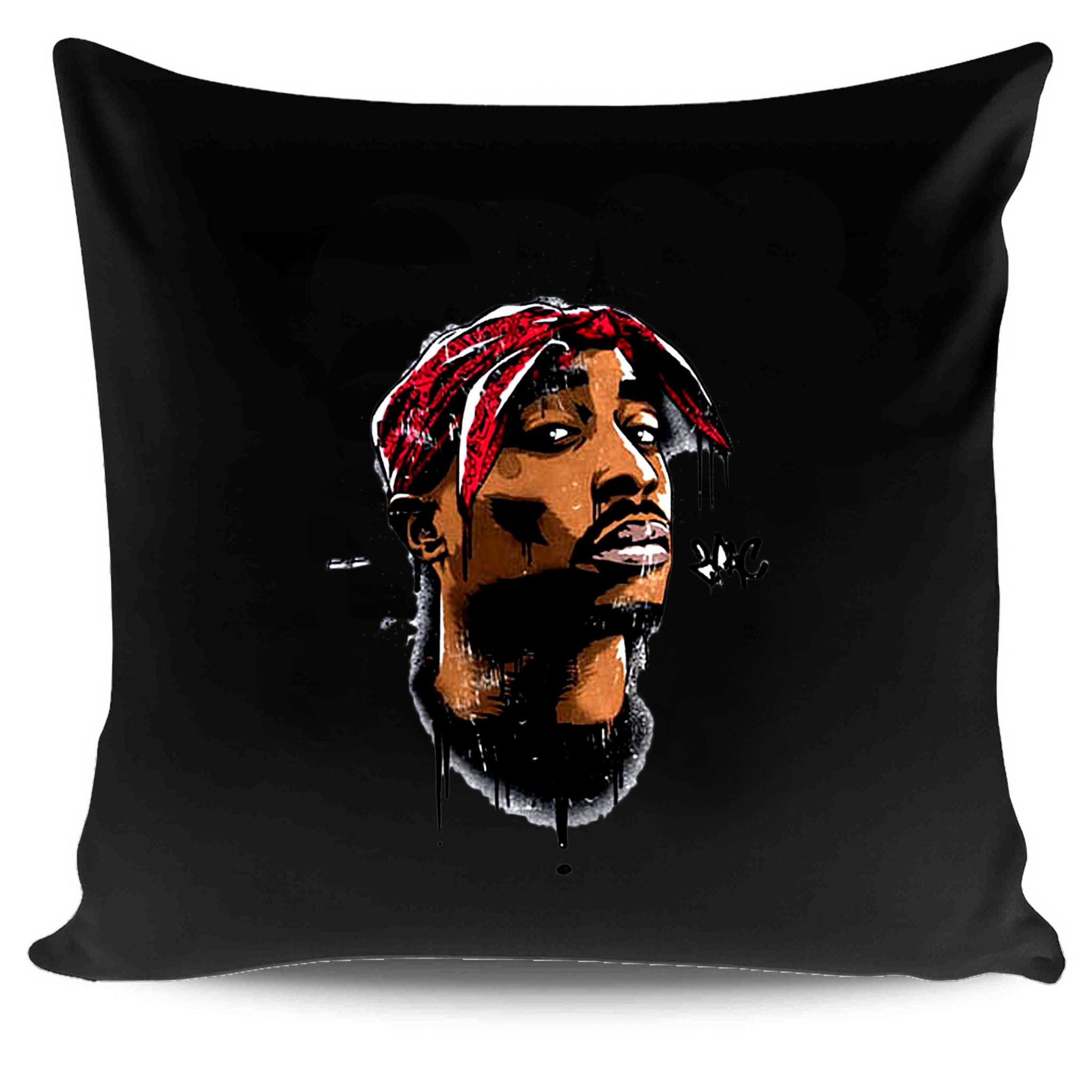 Tupac Face 3d Hiphop Pillow Case Cover