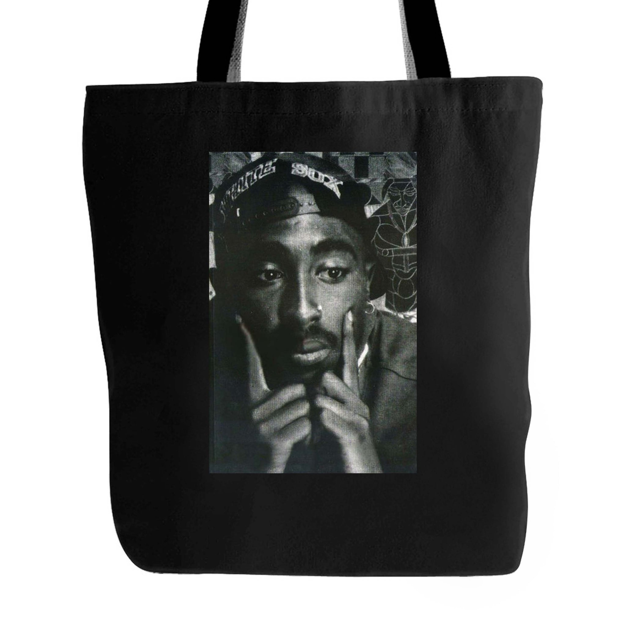 Tupac Shakur Thug Life Rap Legend West Side Tote Bag