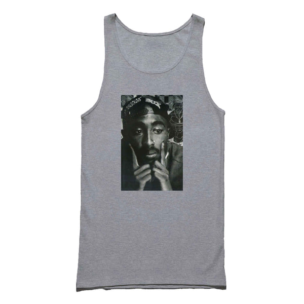 Tupac Shakur Thug Life Rap Legend West Side Tank Top