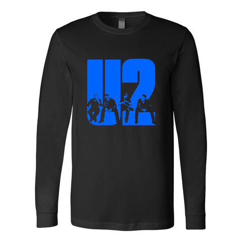 U2 The Joshua Tree Tour Bono The Edge Adam Clayton Larry Mullen Jr Ivan Mc Cormick Peter Martin Dik Evans Long Sleeve T-Shirt