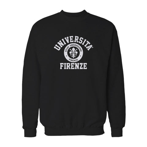 University Of Firenze Funny Retro Cool Hipster Holiday Comfy Florence Firenze Tuscany Italy Dads Get Promoted Sweatshirt