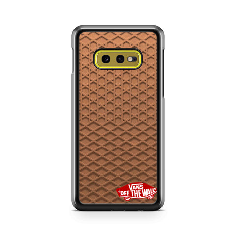 Vans Waffle With Logo Samsung Galaxy S10 Case