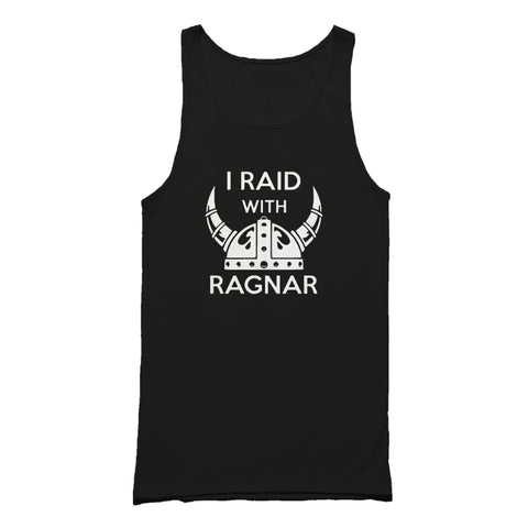 Vikings Series Movie Cinema Ragnar Lothbrok I Raid Tank Top