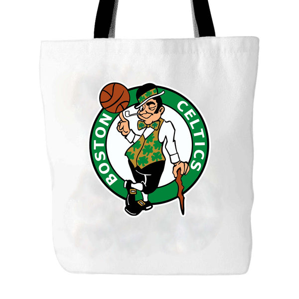 Vintage 90s Celtic Boston Logo Tote Bag