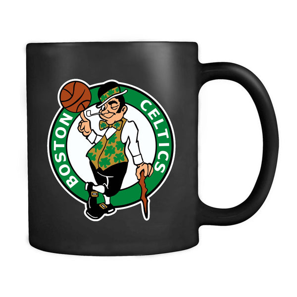 Vintage 90s Celtic Boston Logo Mug