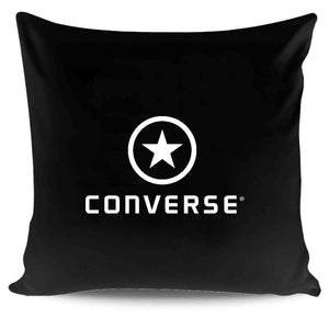 Vintage 90s Converse Cropped Logo Pillow Case Cover
