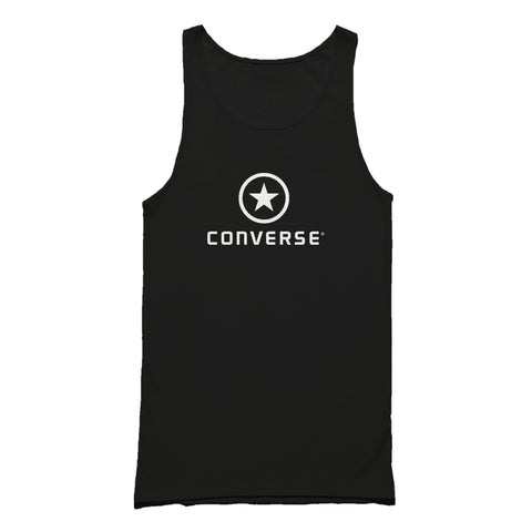 Vintage 90s Converse Cropped Logo Tank Top